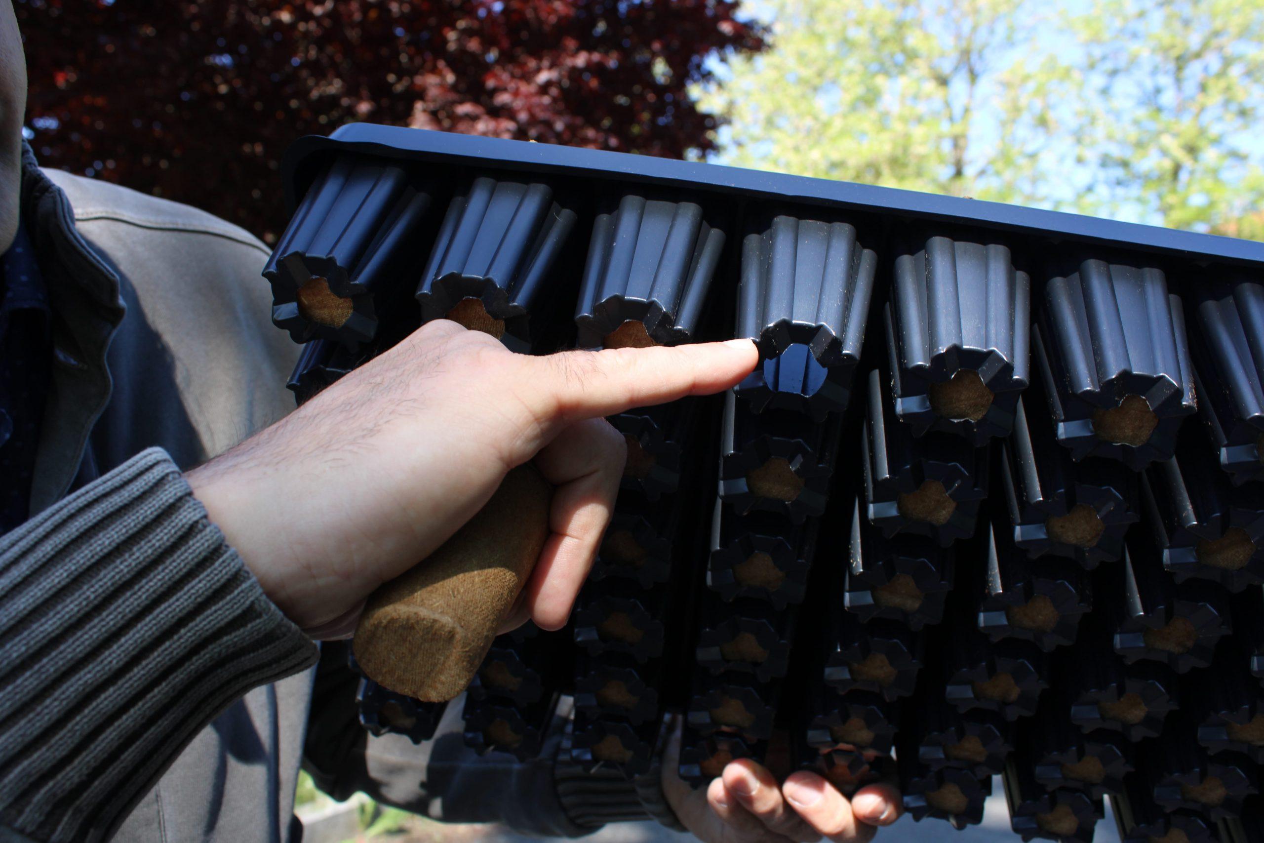 conteneurs plastique pour fertilpot