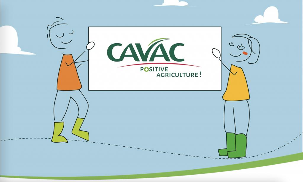 page d'accueil site cavac
